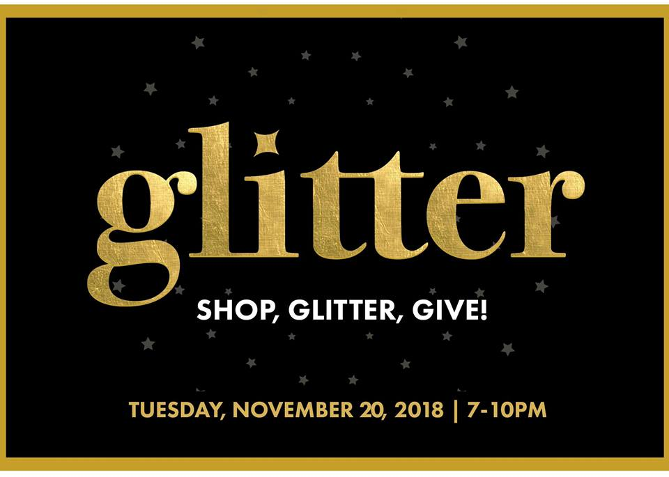 77ee1f15329cf Glitter - An Exclusive Shopping Party at Lawson Heights Mall - November 20.  Thank you ...