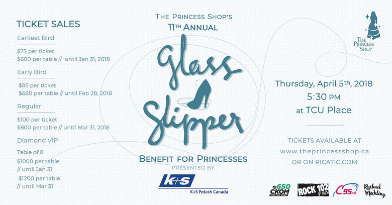 10th Annual Glass Slipper Benefit for Princesses